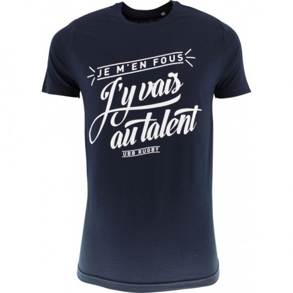 "T-SHIRT SUPPORTER UBB ""AU TALENT"""