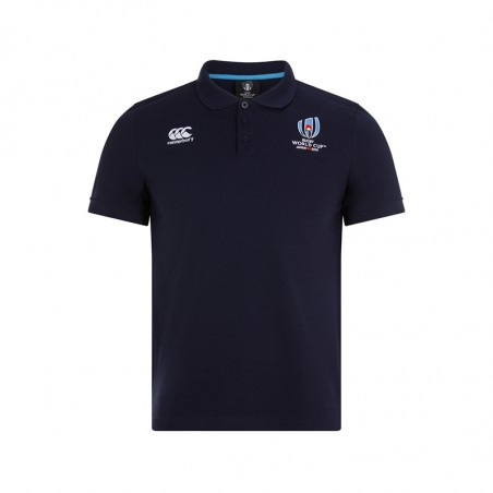RWC 19 COTTON PIQUE POLO - Navy Blazer