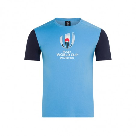 RWC COTTON JERSEY GRAPHIC TEE KIDS - Laxa Blue