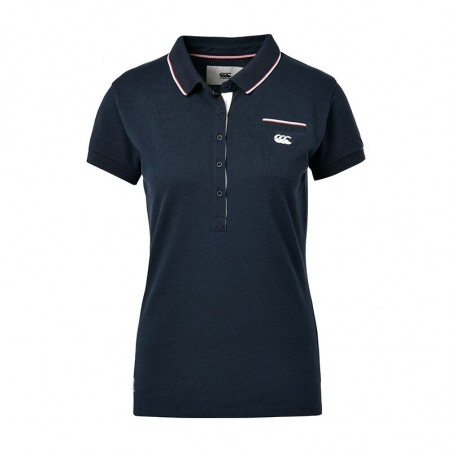 POLO CLARENCE FEMME - CANTERBURY