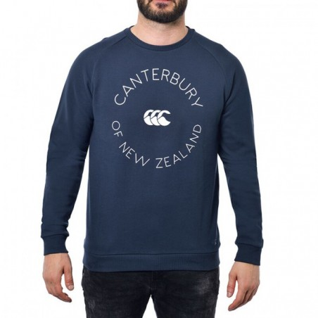 HERITAGE SWEATER RC - Hawkes Navy