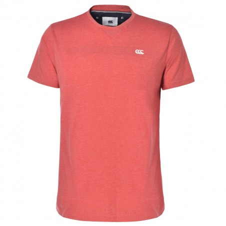T-SHIRT AAN ROUGE - CANTERBURY