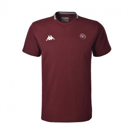 T-SHIRT ANGELICO BORDEAUX UBB - KAPPA