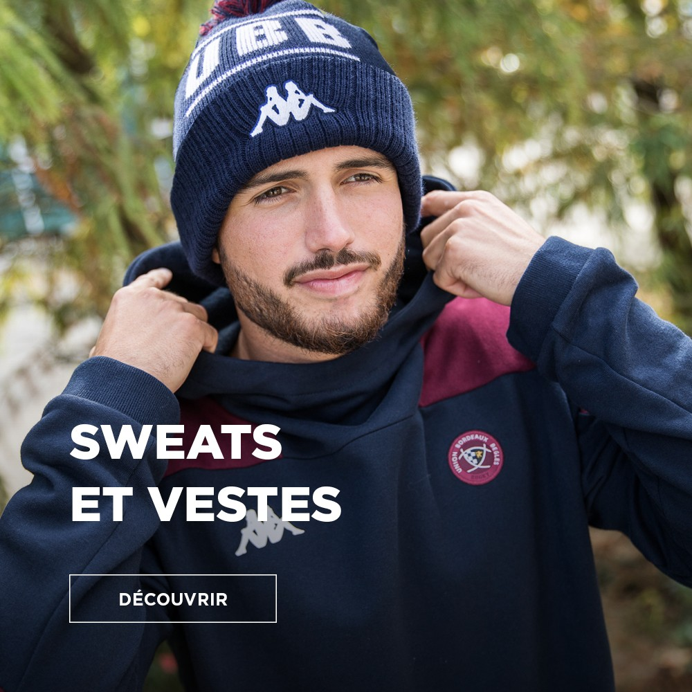 Nouvelle collection sweats et vestes UBB